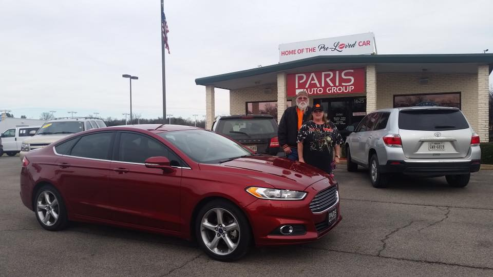 The Gallants & their new Ford Fusion